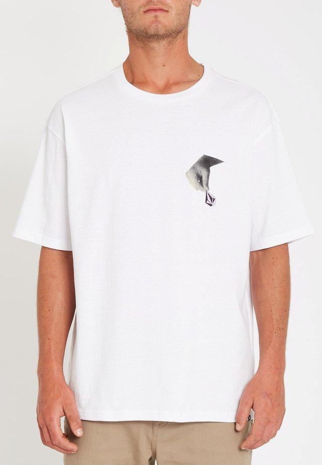 HAPPENED LSE SS - T-shirt imprimé - white