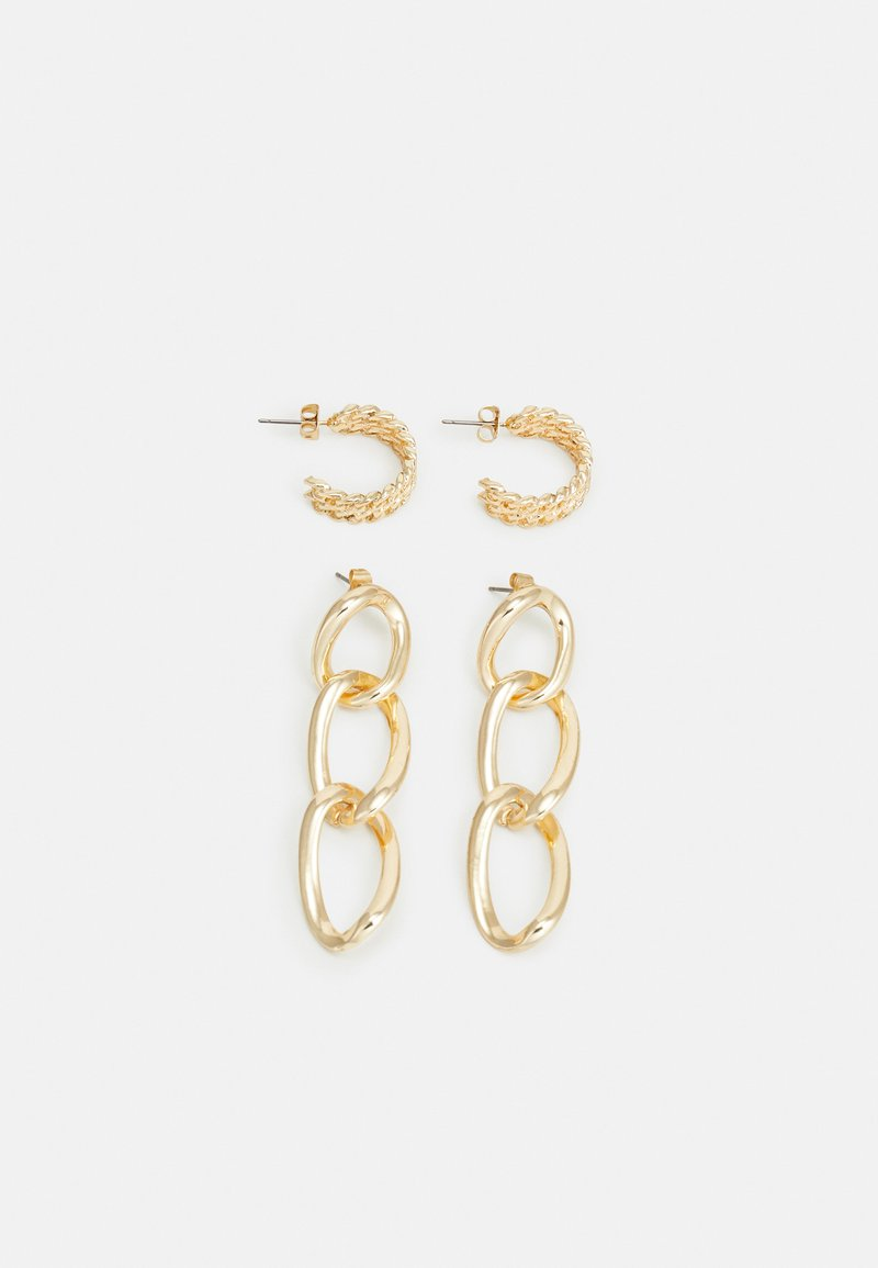 Pieces - PCNILLY EARRINGS 2 PACK - Earrings - gold-coloured