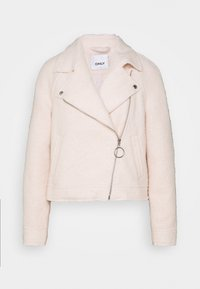 ONLY Petite - ONLASHA BIKER - Summer jacket - pumice stone - 4