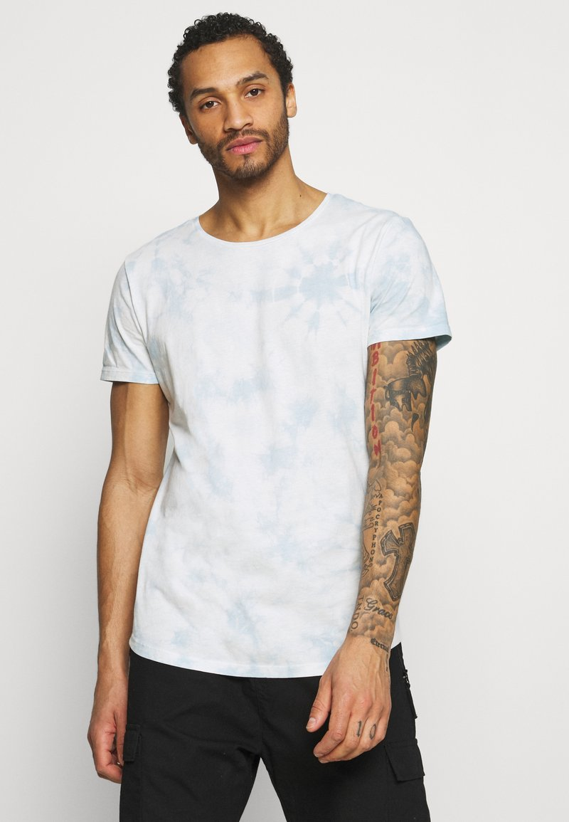 Lee - SHAPED TEE - T-shirt - bas - skyway blue