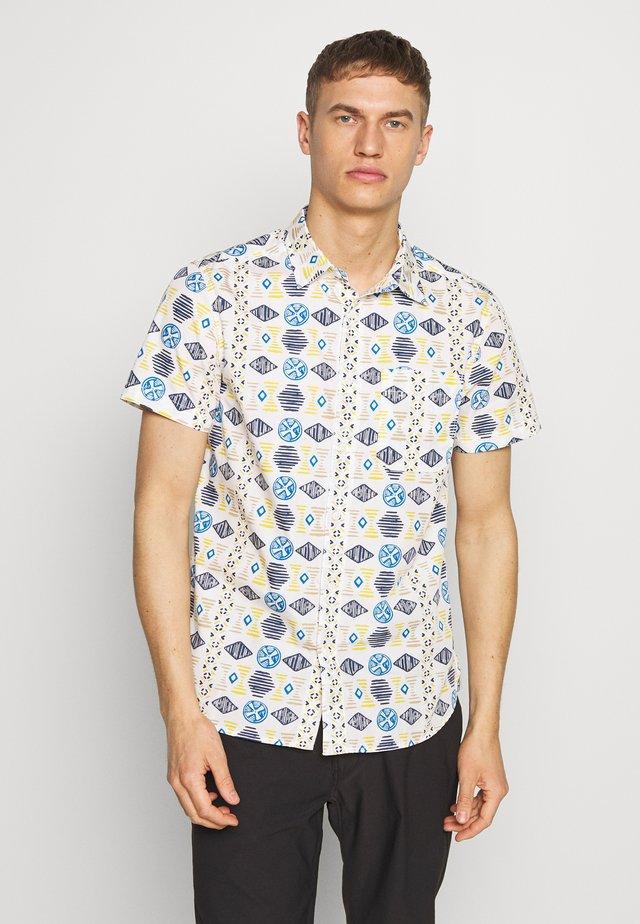 MEN'S BAYTRAIL PATTERN - Overhemd - vintage white
