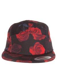 Flexfit - ROSES JOCKEY - Cap - black/red - 3