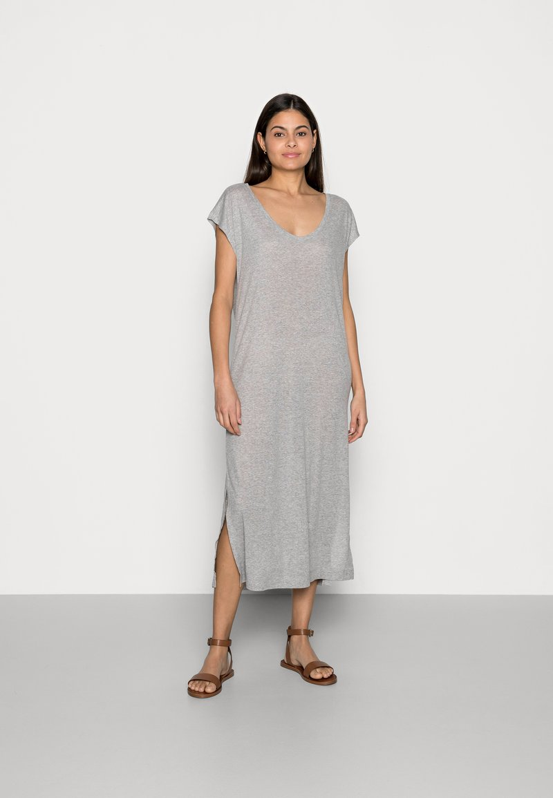 edc by Esprit - DRESS - Jersey dress - light grey