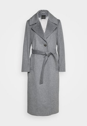 COAT CLARETA BELT - Mantel - grey