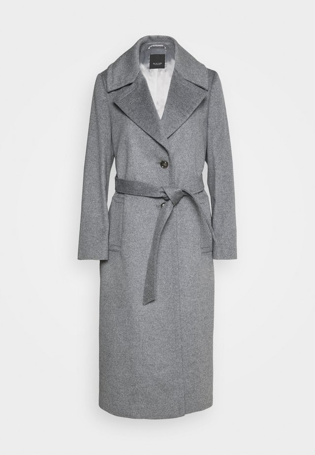 COAT CLARETA BELT - Classic coat - grey