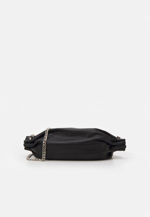 KARLA CHAIN BAG - Schoudertas - black