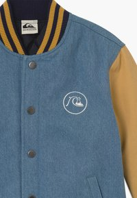 Quiksilver - RADICALS LOG - Giacca invernale - light blue/mustard yellow - 3