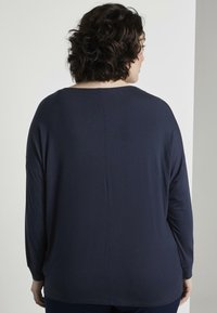 MY TRUE ME TOM TAILOR - Long sleeved top - real navy blue                blue - 2