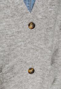 Monki - BOBBI - Cardigan - grey melange - 5