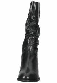 SPM Shoes & Boots - Laarzen - black leather - 5