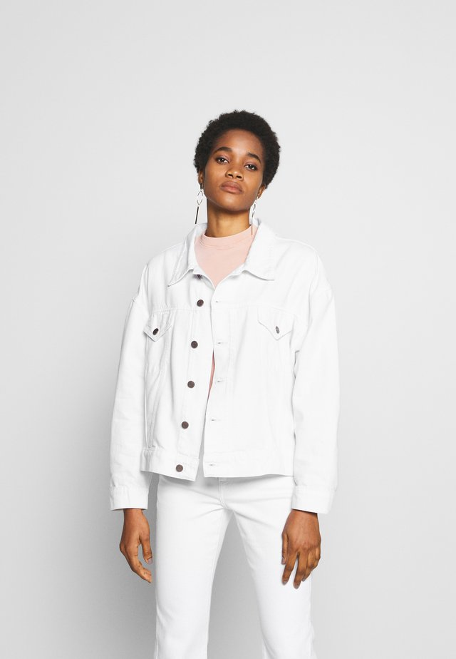 JUNE - Denim jacket - sustainable white