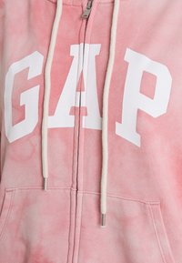 GAP - ABBREVIATED - Zip-up sweatshirt - pink - 2
