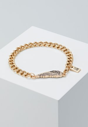 WING CHARM BRACELET - Armband - gold-coloured