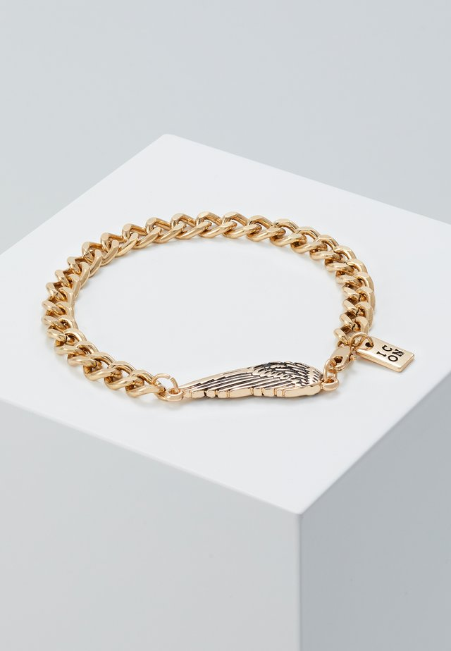 WING CHARM BRACELET - Bracelet - gold-coloured