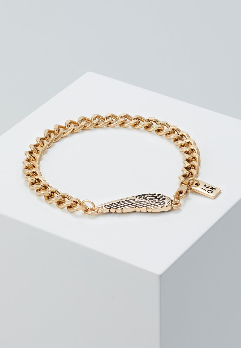 Icon Brand - WING CHARM BRACELET - Bracciale - gold-coloured