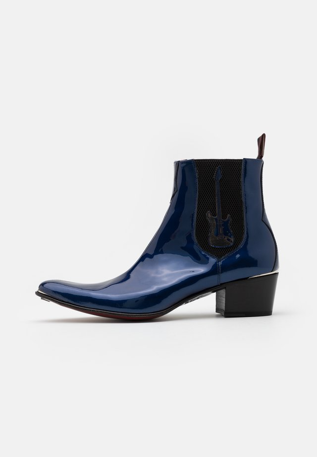 MURPHY GUITAR CHELSEA - Cowboy/biker ankle boot - metal dark blue