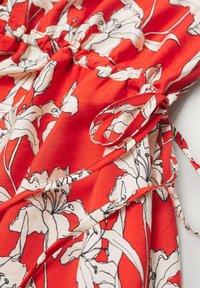 Mango - Day dress - rojo - 7