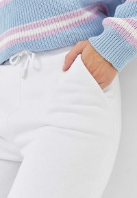 Stradivarius - Pantalon de survêtement - off-white - 3