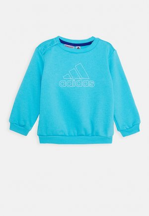 Sweater - brcyan/white