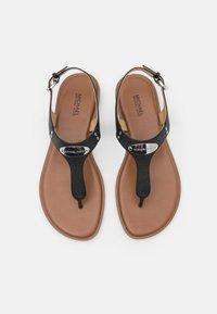 MICHAEL Michael Kors - PLATE THONG - T-bar sandals - black - 3