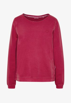 Sweatshirt - rusty red
