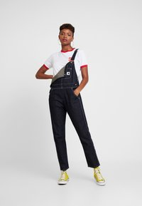 Carhartt WIP - OVERALL - Dungarees - dark stone washed - 1