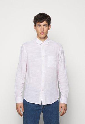 SLUB DOBY  - Shirt - white multi