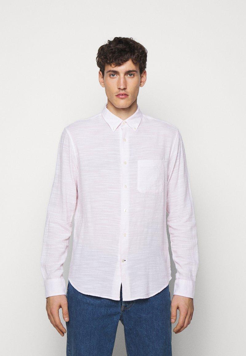Club Monaco - SLUB DOBY  - Shirt - white multi
