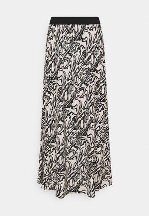 BIELLAS - Áčková sukně - greige