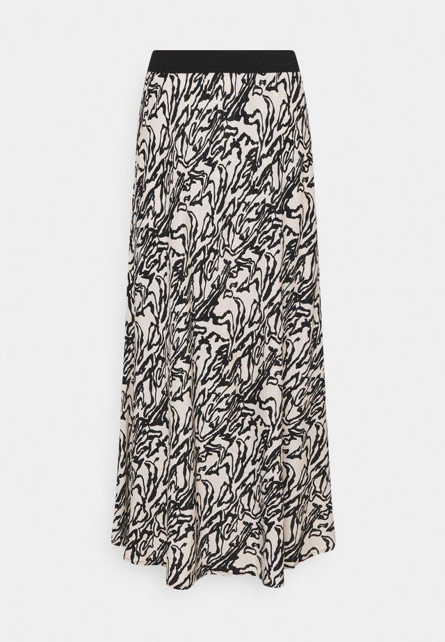 BIELLAS - Spódnica trapezowa - greige