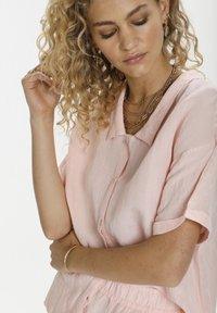 Denim Hunter - Button-down blouse - english rose - 3