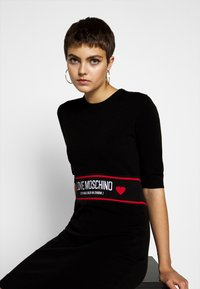 Love Moschino - Etui-jurk - black - 3