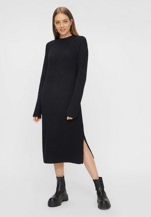PCDISA  - Gebreide jurk - black