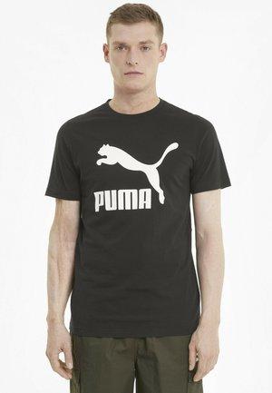 Print T-shirt - puma black