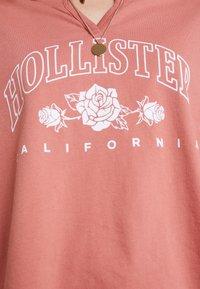 Hollister Co. - LONG SLEEVE DESTINATION - Top sdlouhým rukávem - pink - 4