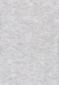 Pieces - PCBECKY TURTLE NECK - Jumper - light grey melange - 5