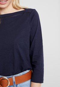 s.Oliver - 3/4 ARM - Langærmede T-shirts - navy - 5