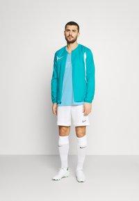 Nike Performance - FC BARCELONA TANK KNIT - Klubové oblečení - lagoon pulse/white - 1