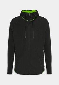 SIKSILK - ADAPT CRUSHED ZIP THROUGH - Summer jacket - black - 4