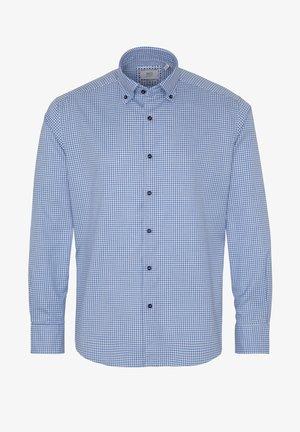 REGULAR FIT - Formal shirt - blau/weiß