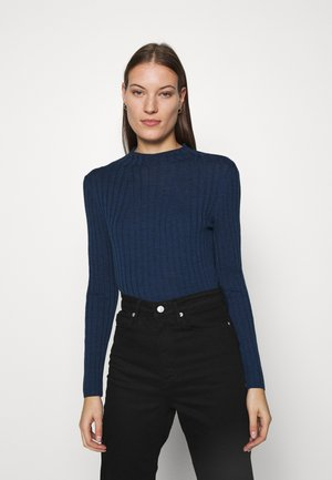 MOCKNECK - Jumper - navy star