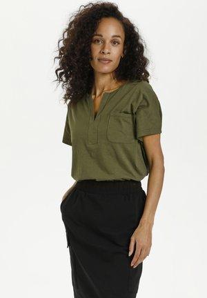 KAABELA  - Basic T-shirt - grape leaf