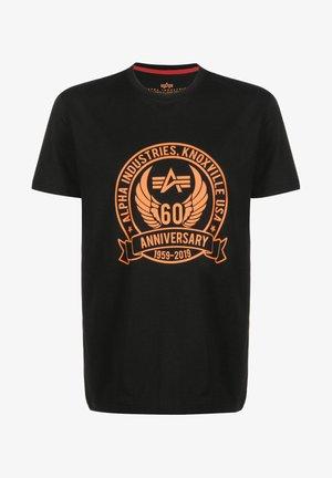ANNIVERSARY - Print T-shirt - black