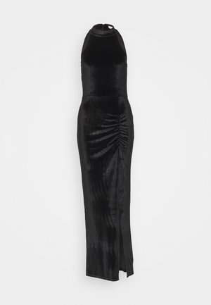 DRAPY HIGHNECK GOWN - Occasion wear - black