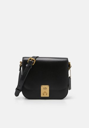 BOX HUTTON SADDLE BAG - Umhängetasche - black