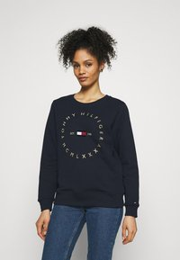 Tommy Hilfiger - REGULAR CIRCLE  - Sweatshirt - desert sky - 0