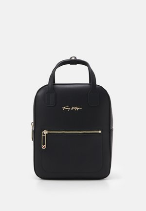 ICONIC TOMMY BACKPACK SIGNATURE - Mochila - black