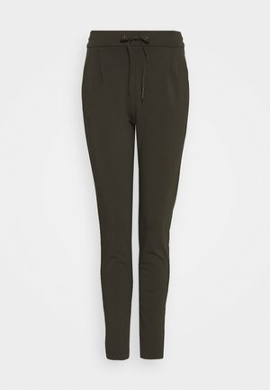 VMEVA LOOSE STRING PANTS - Bukse - dark green