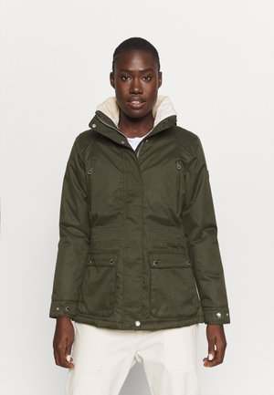 LORETTA - Outdoorjacke - dark khaki