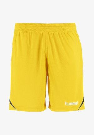 AUTH. CHARGE - kurze Sporthose - yellow